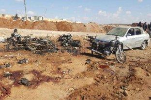 Al menos 42 muertos tras la explosión de un coche bomba en Siria