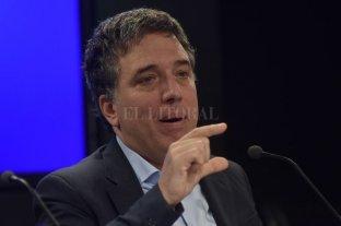 """Dujovne: """"No va a haber un cambio importante en la inflación en los próximos meses"""""""