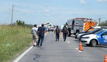 Doce personas murieron en un grave accidente en la ruta 33