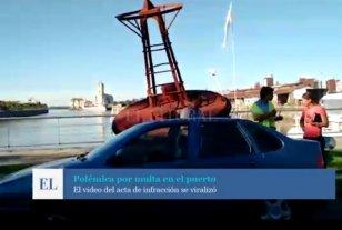 Tránsito: el municipio puede multar en la zona portuaria