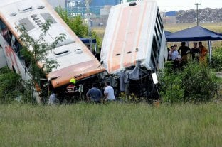 Doce personas murieron en un grave accidente en la ruta 33 -  -