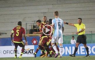 El Sub 17 cayó en el inicio ante Venezuela