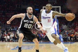 Los Spurs de Ginóbili vencieron a los Clippers
