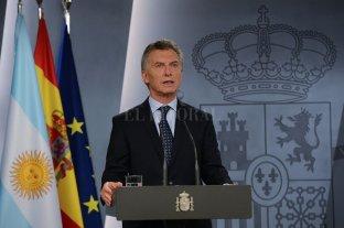 """Macri: """"Constatamos una apertura total de puertas"""""""