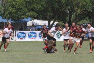 Está en marcha el Pelossi 2017 - Imagen del cotejo en el que Pueyrredón (de la URBA) se impuso claramente a Palermo Bajo Rugby Club de Córdoba. -