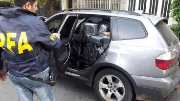 Secuestraron 750 kilos de marihuana en Paraná