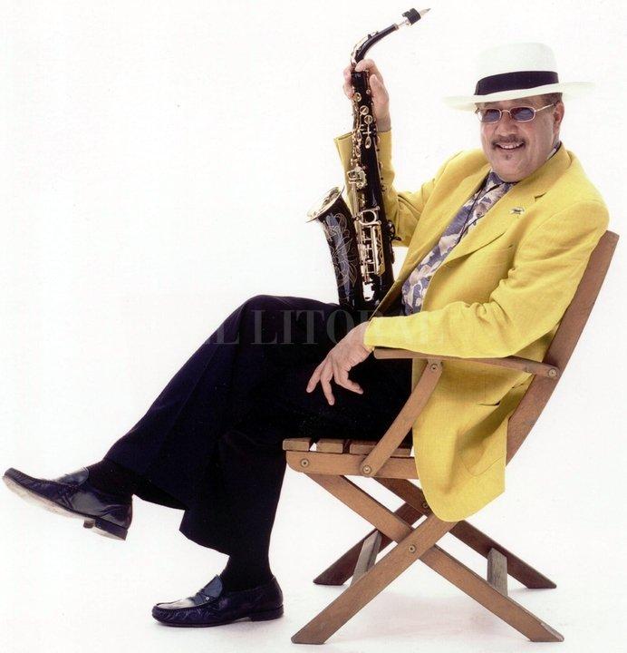 """""""Mi padre era un saxofonista clásico que le gustaba la música de jazz, crecí tocando todo tipo de música"""", dice el artista. Gentileza Producción"""