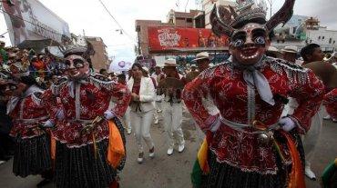 En Bolivia prohíben jugar con agua durante el Carnaval