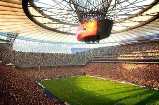 Argentina inaugurará el estadio de la final de Rusia 2018