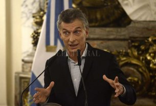 """Macri: """"La mayoría de los argentinos nos va a apoyar en octubre"""" -  -"""