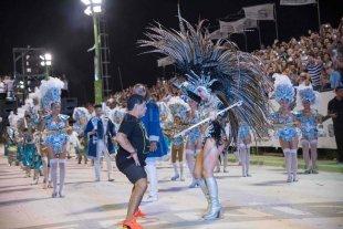 Maradona participó del carnaval de Corrientes