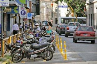El Municipio realizó nueva demarcación para el estacionamiento de motos