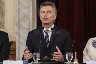 Macri inaugurará mañana el período ordinario de sesiones
