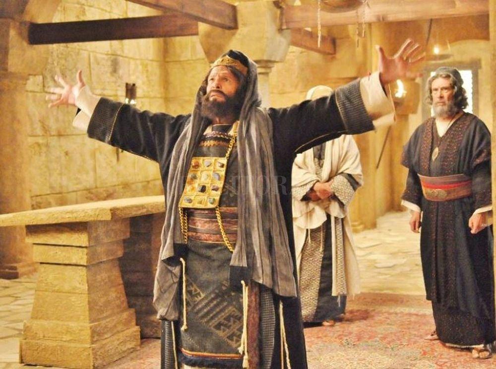 """""""Los milagros de Jesús"""" cerró con """"La Crucifixión"""", que a pesar de su registro respetuoso y austero se despidió con escasos ocho puntos. <strong>Foto:</strong> Gentileza Telefe"""