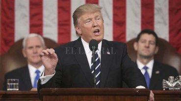 Enfática exhortación de Trump al Congreso para aumentar el gasto y reformar leyes