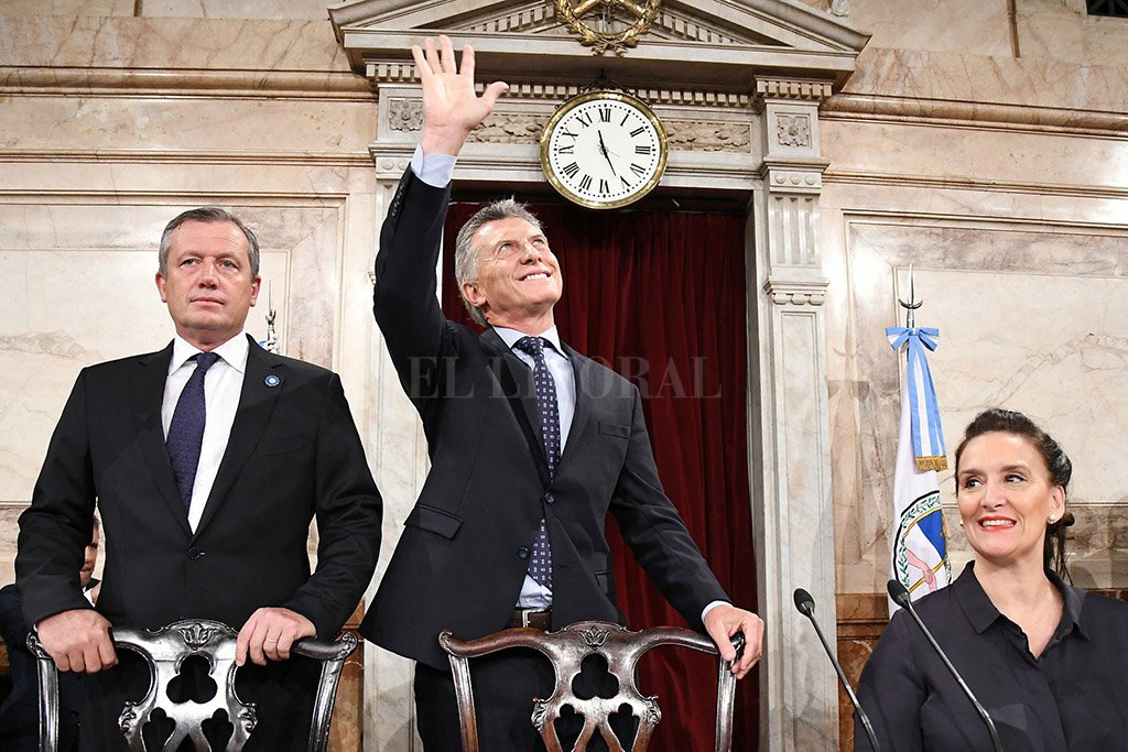 """Macri: """"Son muchos los que no quieren que las cosas cambien"""" -  -"""