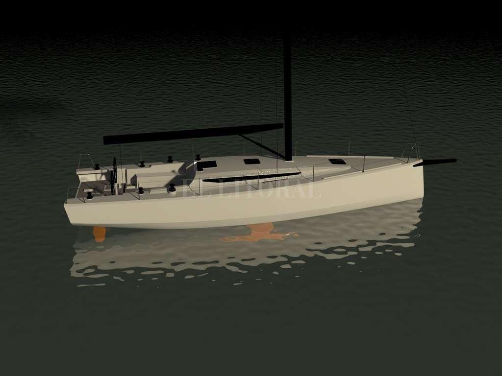 Bauto 45: con este diseño naval Agustín obtuvo el premio mundial que le permitió ir a trabajar a Italia.