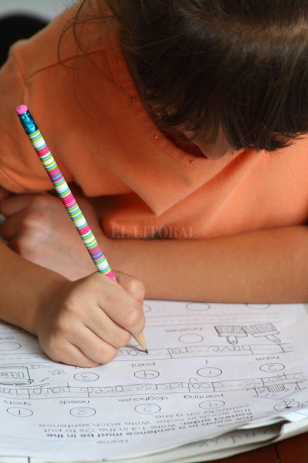 Se pide donación de lápices, cuadernos, plasticolas, y cartucheras o mochilas usadas.  Archivo El Litoral
