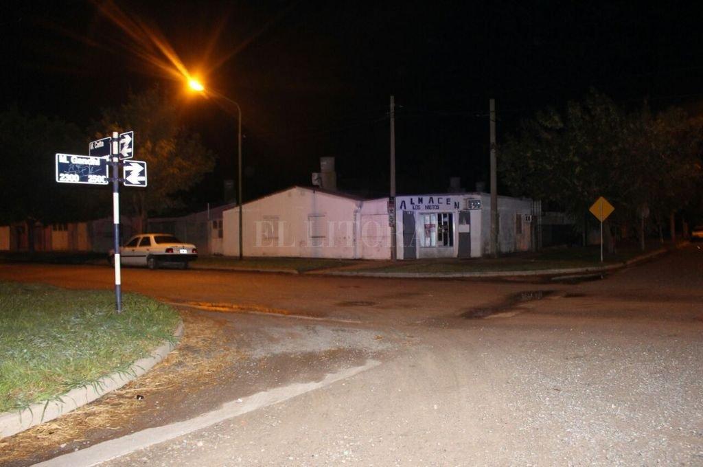 El lugar donde se produjo el fatídico suceso. <strong>Foto:</strong> Dpto Relaciones Policiales de provincia