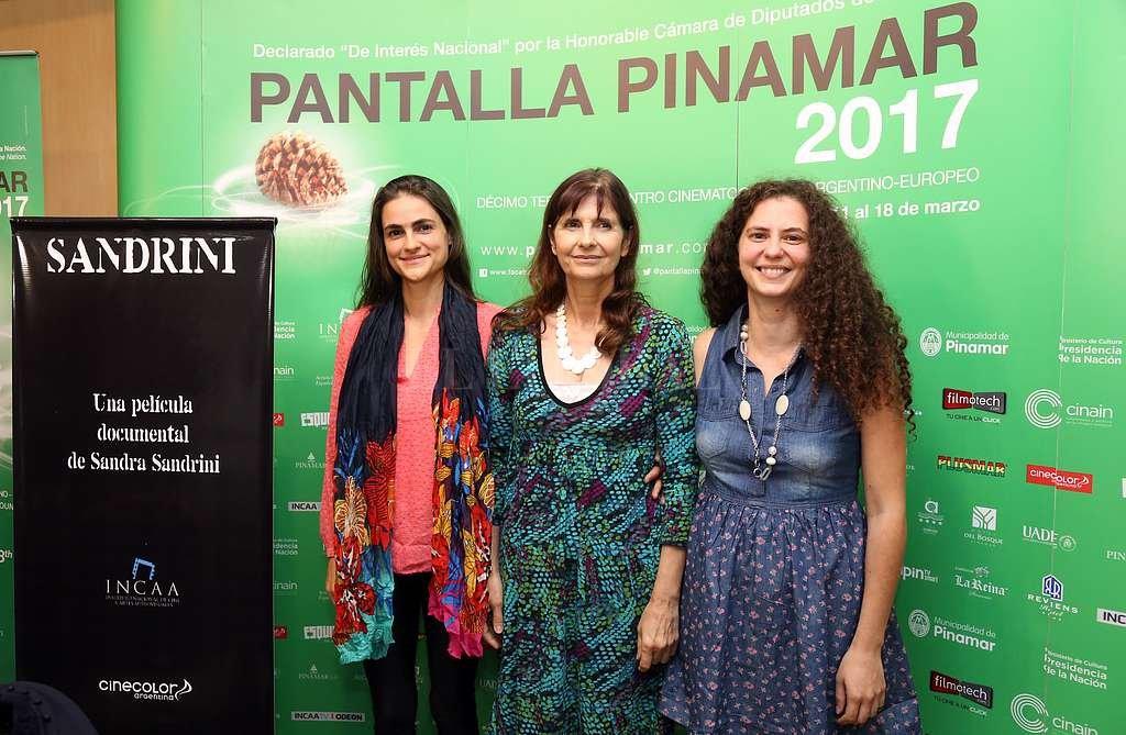 La hija y nietas del actor presentaron el documental ´Sandrini´ en Pinamar. DPA