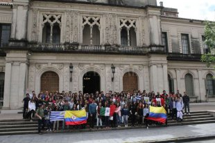 La UNL recibió a 100 estudiantes internacionales