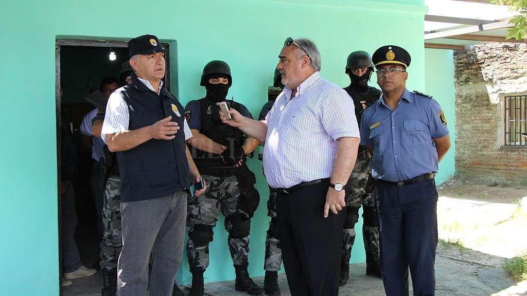 El 21 de diciembre de 2016 el gobernador Colombi mandó detener al jefe de Drogas de Santa Fe, José Moyano, motivo por el cual existe otra investigación en trámite en la Justicia Federal. Crédito: Archivo