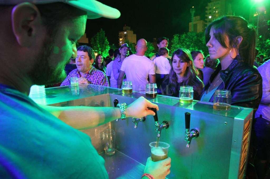 Como en las grandes capitales cerveceras del mundo, en Santa Fe se celebra San Patricio.  Pablo Aguirre