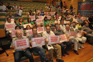 Con 200 firmas se presentó el Foro de Defensa de la Educación Pública