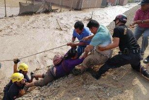 """El """"Niño costero"""" arrasa Perú"""