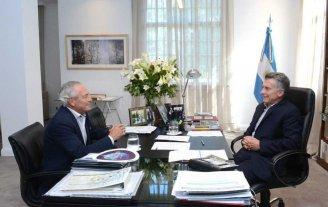 Barletta con el presidente