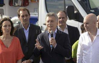 Macri reivindicó la escuela pública y no habló de la marcha docente