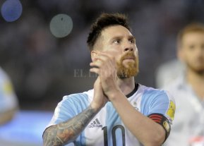 Ante la duda... Messi no dudó