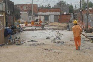 Habilitan la pavimentación de calle Demetrio Gómez