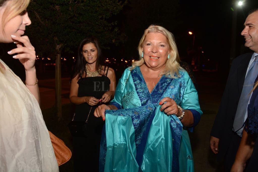 Elisa Carrió participó del casamiento de Lucila Lehmann en nuestra ciudad Luis Cetraro