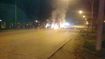 Noche de furia en barrio Yapeyú