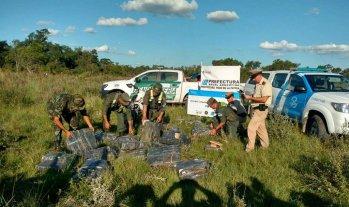 Secuestraron un cargamento de 700 kg de marihuana cuyo destino era Itatí