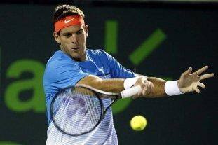 Del Potro debutó en Miami con una victoria y jugará contra Federer
