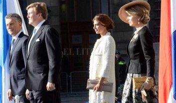 Macri fue recibido por los reyes Guillermo y Máxima