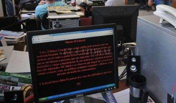 Fue hackeada la web de El Litoral - Web Hackeada EL LITORAL -