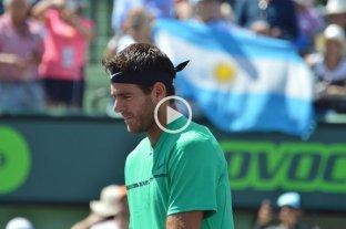 Federer fue demasiado para Del Potro