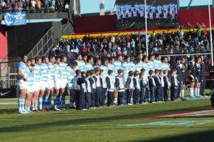 Presentan el partido de Los Pumas vs. Inglaterra