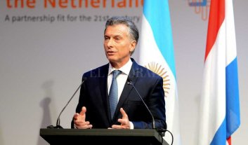 Macri visitó la Corte Penal Internacional de La Haya