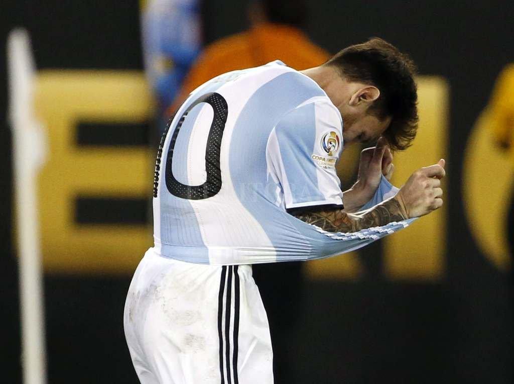 """""""Messi está triste"""" -  -"""
