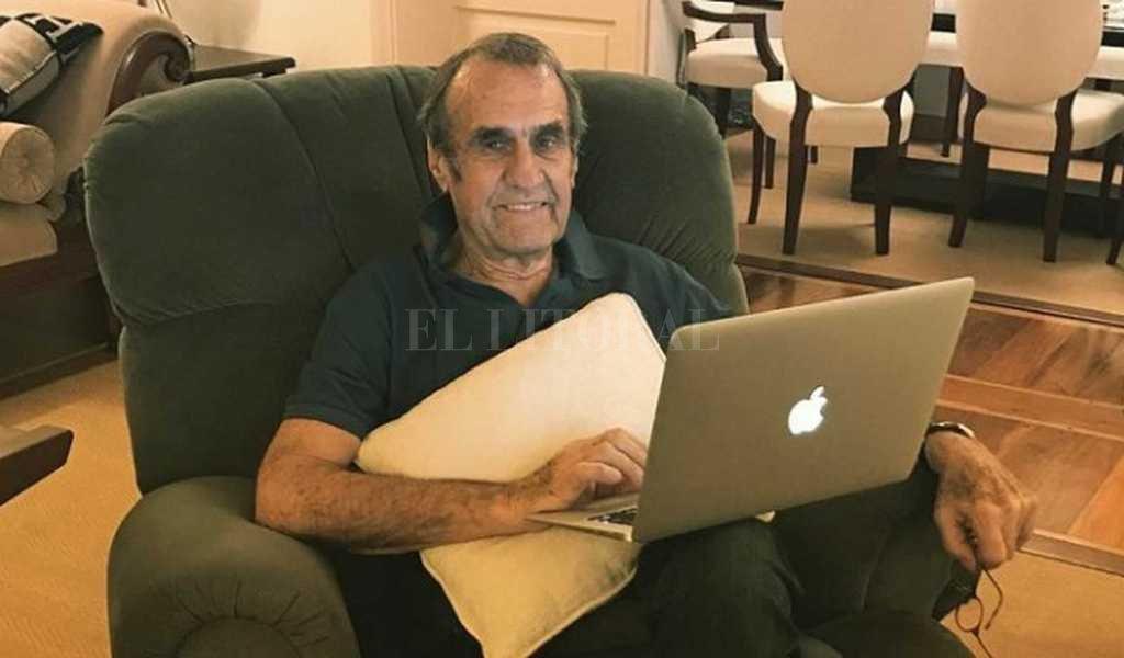 Carlos Reutemann: su hija publicó una foto tras su recuperación