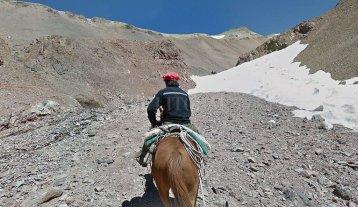 El Cruce de los Andes se puede recrear a través de Google Street View