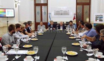 Lifschitz se reunió con intendentes por seguridad e infraestructura