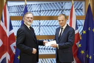 El Reino Unido inició el proceso de salida de la Unión Europea