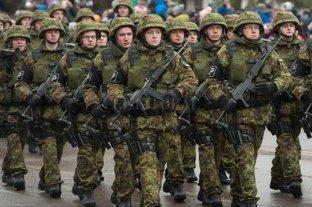 Rusia amplía su ejército