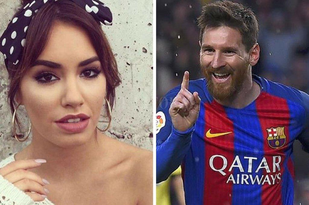 Dos cracks argentinos: Lali y Messi juntos en Barcelona