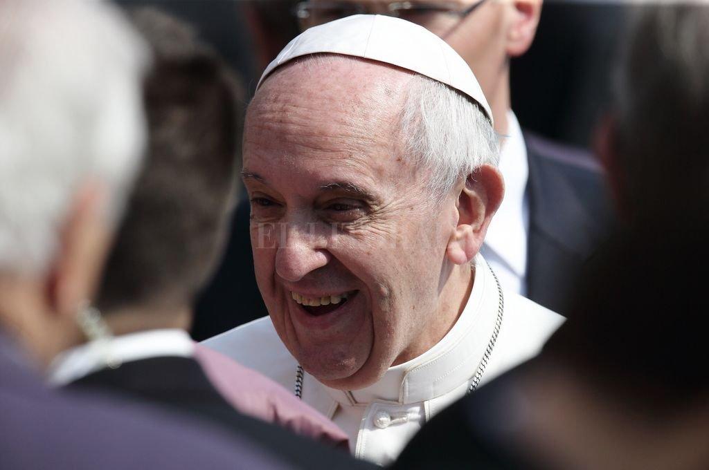 El Papa presidió la misa de Domingo de Ramos